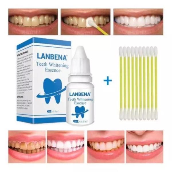 LANBENA TRẮNG RĂNG Teeth Clean Spot Cleaning LÀM SẠCH RĂNG Teeth Whitening TRẮNG RĂNG Teeth White Intensive Whitening giá rẻ