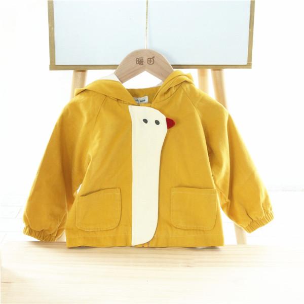 👌XẢ KHO👌 Áo khoác gà con có mũ chống mưa- gió- nắng cực đáng yêu cho bé từ 1-5 tuổi