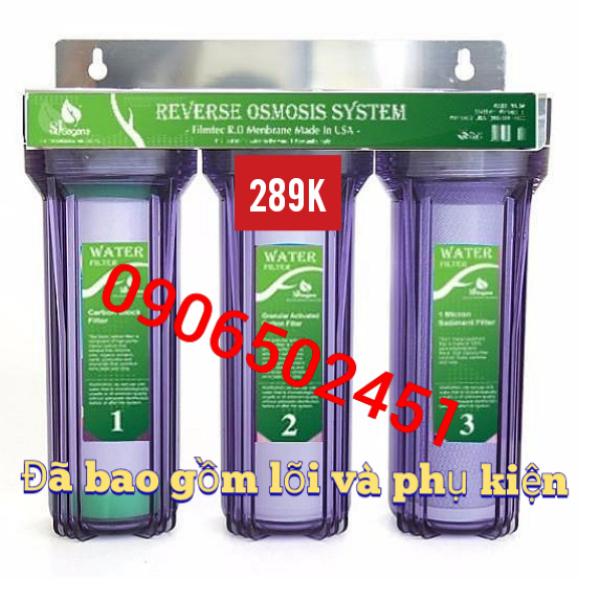 Bảng giá Bộ lọc nước sinh hoạt - bộ lọc thô đầu nguồn 3 cấp ly 10 inch chuẩn dùng cho gia đình Điện máy Pico