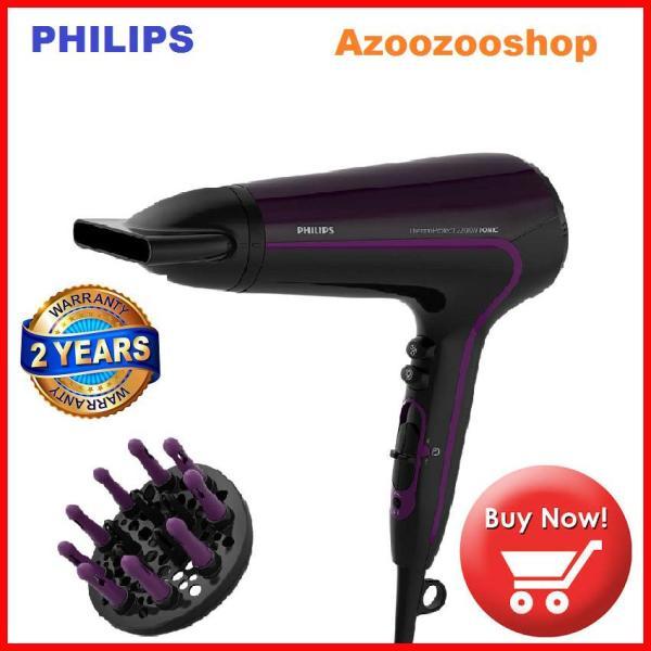 Máy sấy tóc Philips HP8233, 2200W, Sấy khô nhanh ở nhiệt độ thấp hơn với ThermoProtect, với đầu tán khí mát xa & đầu sấy tạo kiểu 11 mm tốt nhất