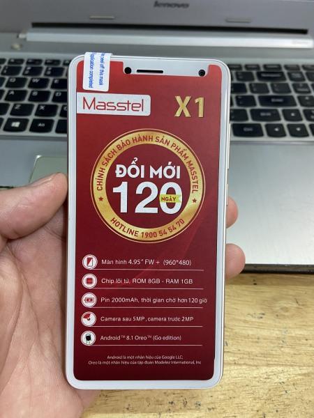 Điện thoại Masstel X1 Full box ( Hàng chính hãng)