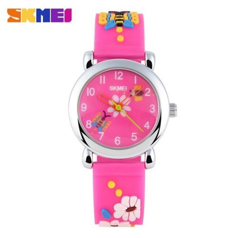 Đồng hồ thời trang trẻ em Skmei 1047 kiểu dáng đáng yêu(Cập nhật 2019) bán chạy