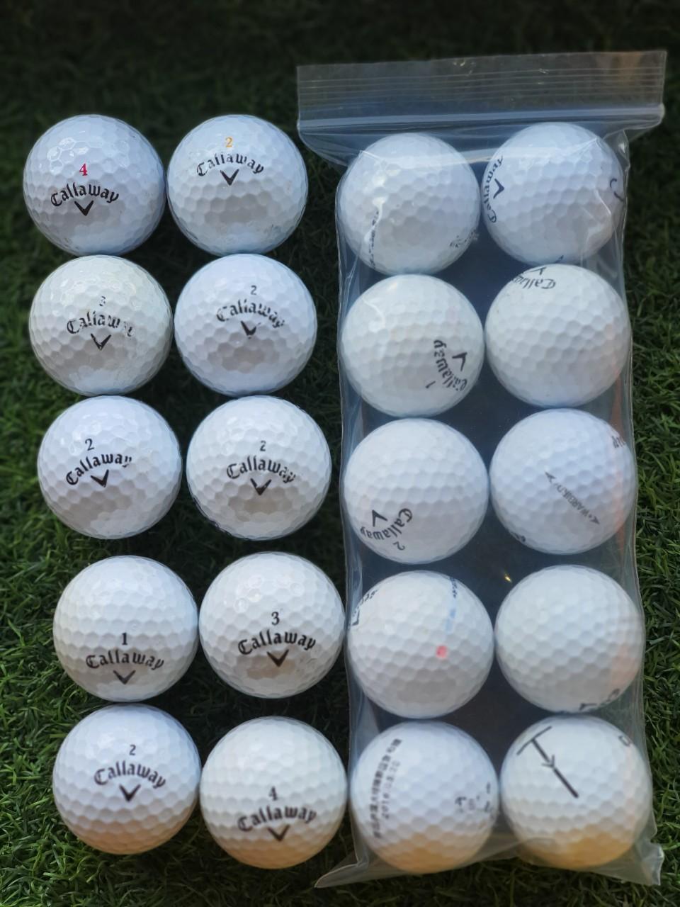 combo 10 quả bóng golf  - bóng golf TaylorMade, Honma, Sixon, Callaway vv..