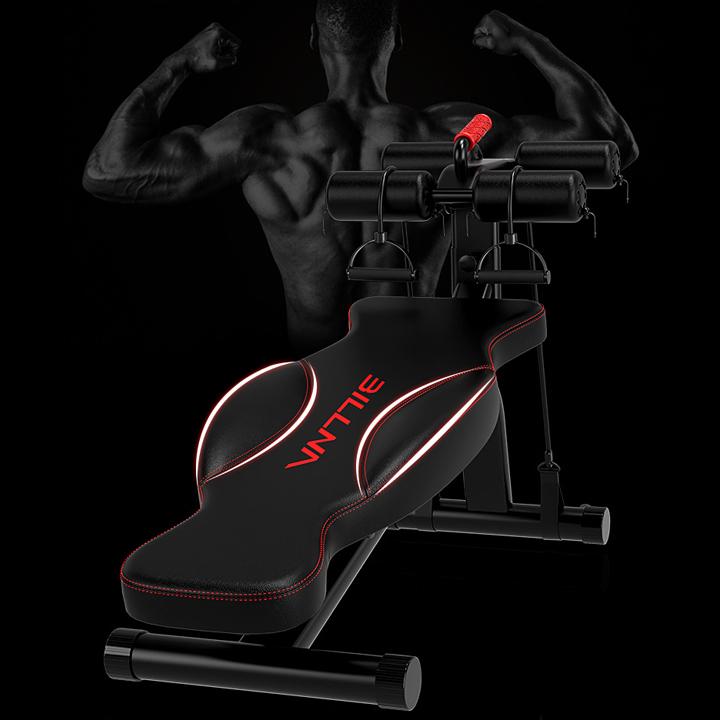 Máy tập gym tập cơ bụng nhiều chế độ đa năng