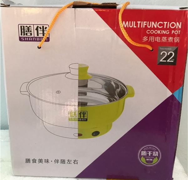 Nồi lẩu mini,  dành cho 2- 3 người ăn cách nhiệt, đa năng tiện dụng có thể luộc, nấu, hấp