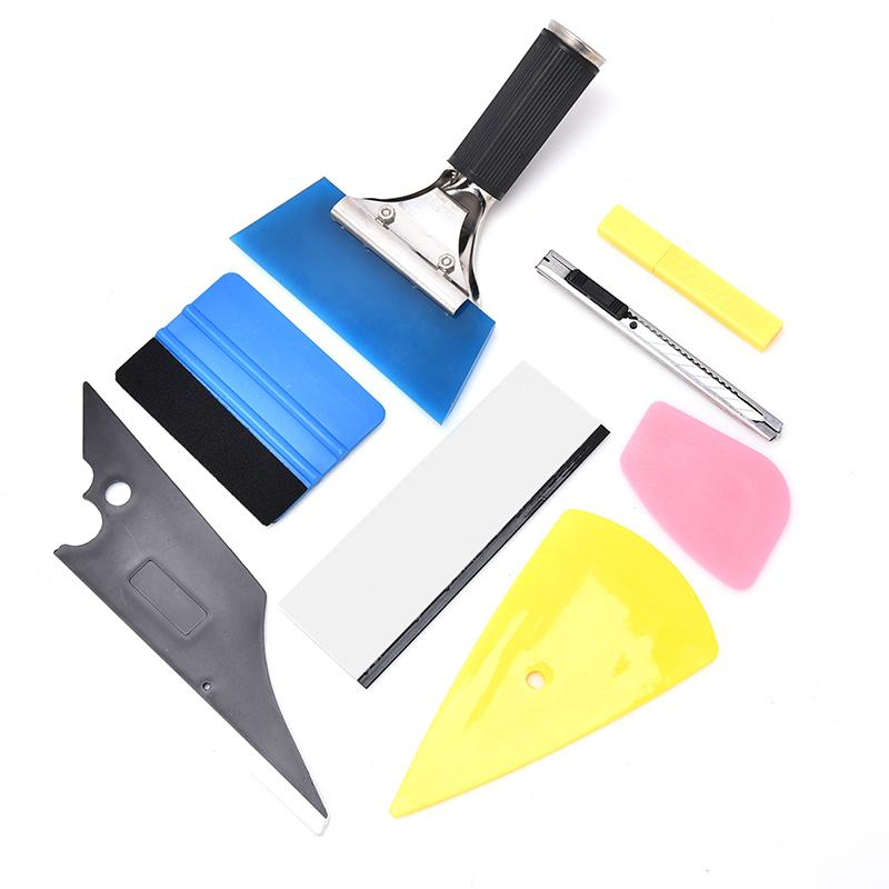 Mua zhou 8 In 1 Car Window Tint Tools Kit Vinyl Film Tinting Squeegee Scraper Applicator