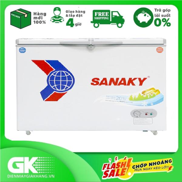 [Nhập ELAPR21 giảm 10% tối đa 200k đơn từ 99k]Tủ đông Sanaky 2 Ngăn 280 lít VH-4099W3