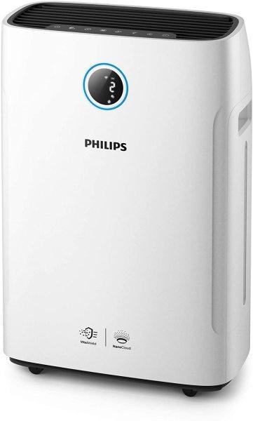 [Trả góp 0%][Hàng nội địa Đức]  MÁY LỌC KHÔNG KHÍ VÀ TẠO ẨM PHILLIPS AC2729/11 2-in-1 Air Purifier and Humidifier Series