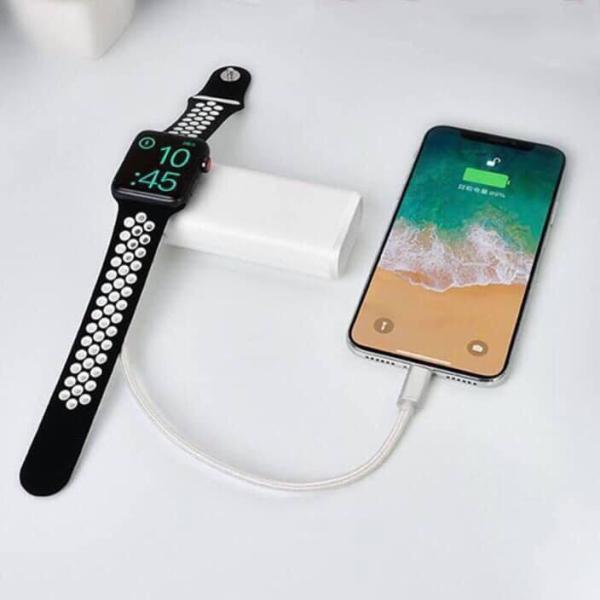 Pin sạc dự phòng đa năng 2 trong 1 COTEetCI dùng cho Watch 5200mAh