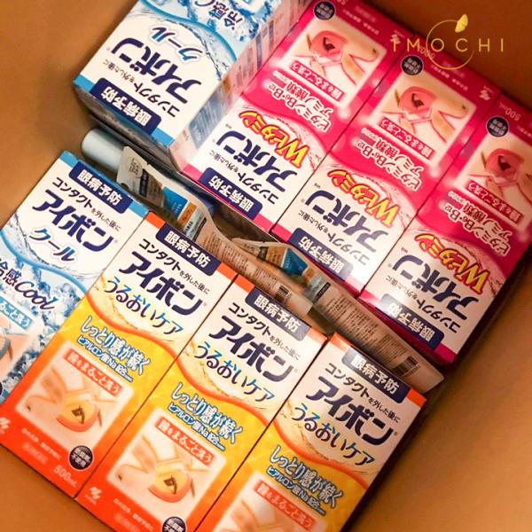 Nước rửa mắt Eyebon W Vitamin Kobayashi Nhật Bản 500ml