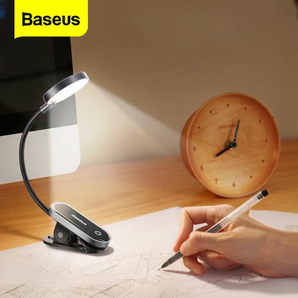 Bảng giá Đèn Led mini không dây BASEUS đèn đọc sách sạc USB có kẹp tiện lợi dành cho gia đình văn phòng hshop365 abshop365 abshop hshop Phong Vũ
