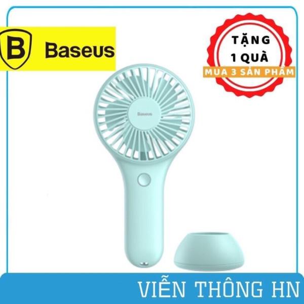 Quạt mini cầm tay baseus bigo fan y100 - quạt tích điện baseus siêu nhỏ nhẹ dễ mang theo - vienthonghn