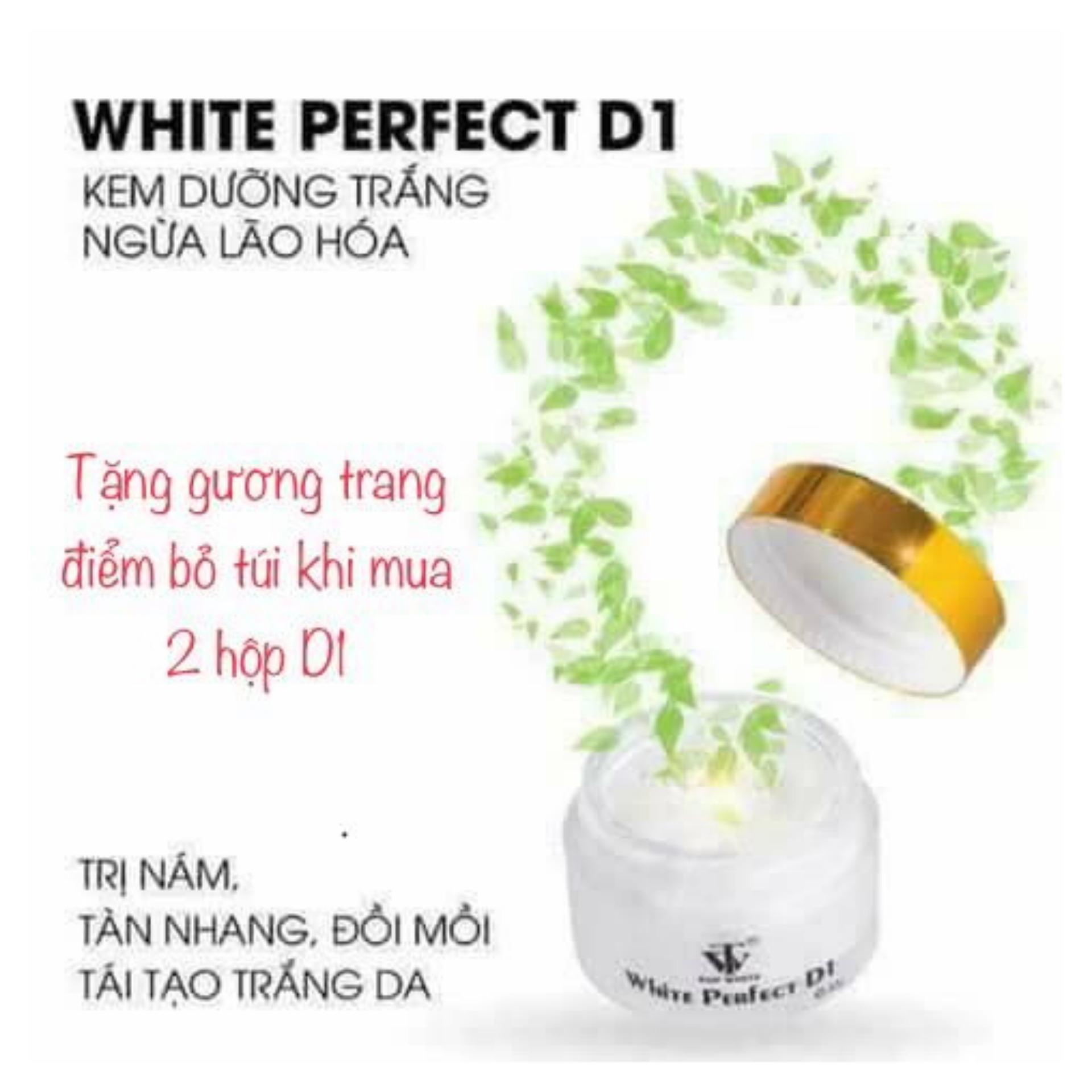 White Perfect D1 Kem ngăn ngừa nám, tàn nhang, đồi mồi chính hãng
