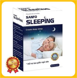 Sanfo Sleeping -Viên Uống Ngủ Sâu Giấc Giúp dễ ngủ, tạo giấc ngủ sâu tự nhiên thumbnail