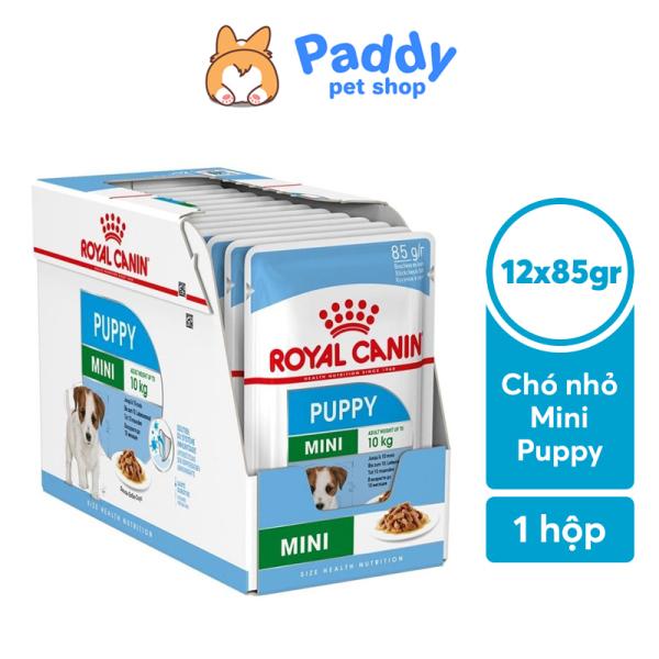 [Hộp 12 gói] Pate cho chó con Royal Canin Mini Puppy