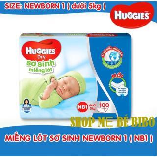 Bộ 2 gói tả lót Newborn 1 Huggies 100 miếng thumbnail