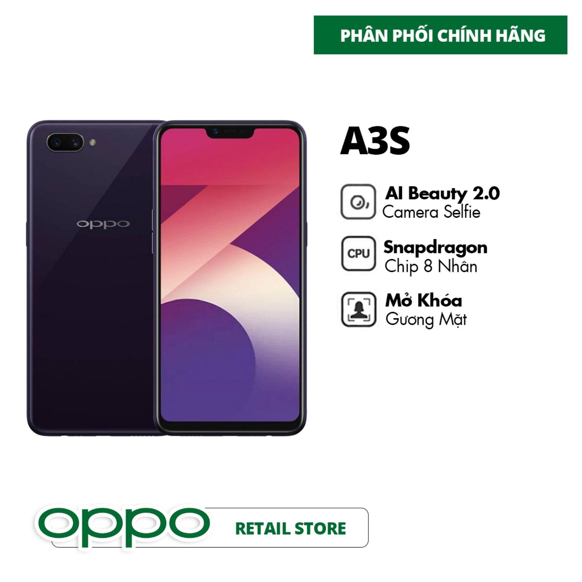 Điện Thoại OPPO A3S (3GB/32GB) - Hàng Chính Hãng
