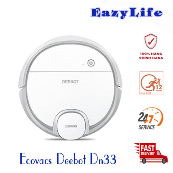 Máy Hút Bụi Lau Nhà Ecovacs Deebot DN33 (Ozmo 900) Hàng Chính Hãng, Mới 100%, Giá Rẻ.