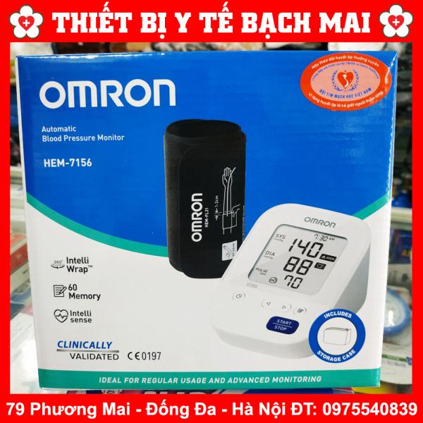Nơi bán Máy Đo Huyết Áp Bắp Tay Omron Hem-7156