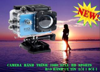 Camera giám sát 1080 Sports, Camera giám sát hành trình ô tô, xe máy chất lượng video 4K nhỏ gọn tiện lợi, chống nước, chống bụi bẩn. Sản phẩm bảo hành uy tín tại NTH shop. Mã SKU 057C. thumbnail