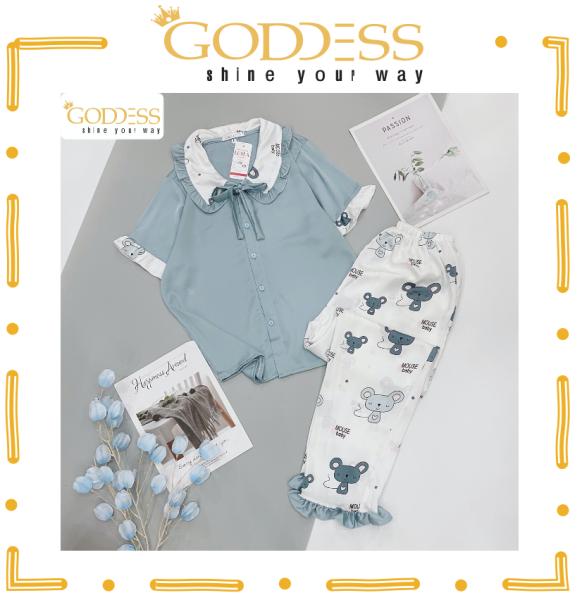 Nơi bán Bộ đồ Pijama Lụa Satin 💖 Đồ ngủ Dài tay ngắn Bigsize 40 - 65kg cao cấp mát lịm