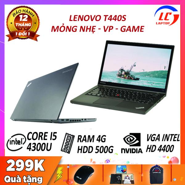 Bảng giá [Trả góp 0%]Laptop Văn Phòng Giá Rẻ Lenovo Thinkpad T440s i5-4300U VGA Intel HD Graphics 4400 Laptop Lenovo Laptop i5 Phong Vũ