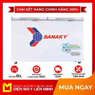 Tủ Đông Mát Inverter Sanaky VH-6699W3 485 Lít - giao hàng miễn phí HCM thumbnail