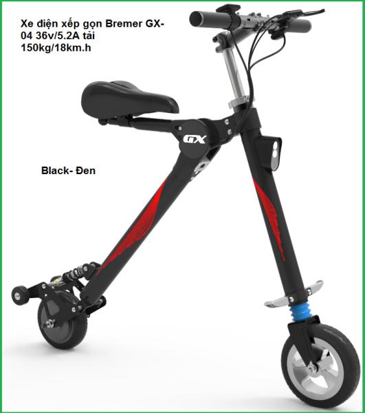 Giá bán Xe điện xếp gọn Bremer GX-04 36v/5.2A tải 150kg/18km.h