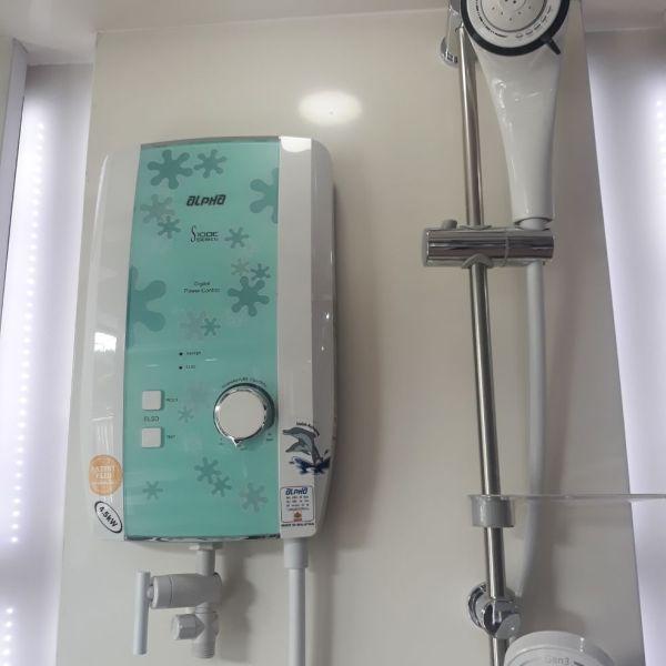 Máy tắm nước nóng tiết kiệm điện alpha S100E