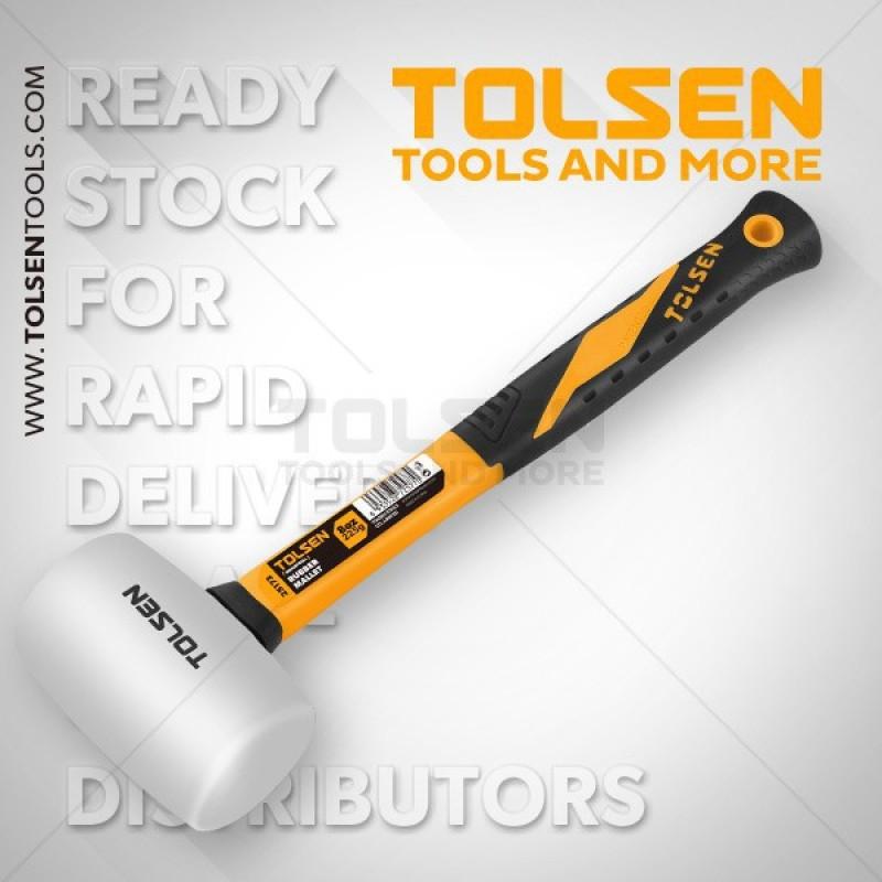 Búa cao su trắng Tolsen 25173, sản phẩm tốt, độ bền cao, chất lượng vượt trội, cam kết như hình
