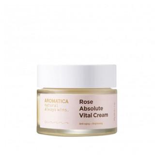 Kem dưỡng trắng, dưỡng ẩm, chống lão hóa chiết xuất hoa hồng AROMATICA ROSE ABSOLUTE VITAL CREAM thumbnail