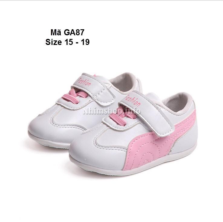 Giá bán Giày tập đi bé gái 6 - 18 tháng GA87 hồng