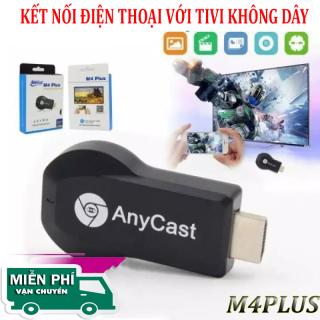 HDMI KD ANYCAST M4PLUS - Kết Nối Điện Thoại Với Tivi Cực Dễ - Full HD 1080P - HDMI không dây hỗ trợ 3G 4G 5G WIFI - Thiết bị phát tín hiệu HDMI không dây Anycast M4 Plus. 1