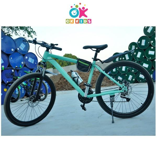 Phân phối Xe đạp thể thao cho người lớn có bình nước túi đựng và chuông bảo hành 2 năm