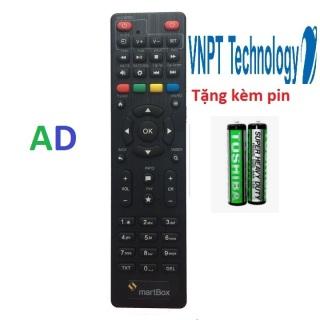 Điều khiển đầu thu VNPT SMARTBOX ,Remote đầu thu VNPT SMARTBOX loại tốt chính hãng thumbnail