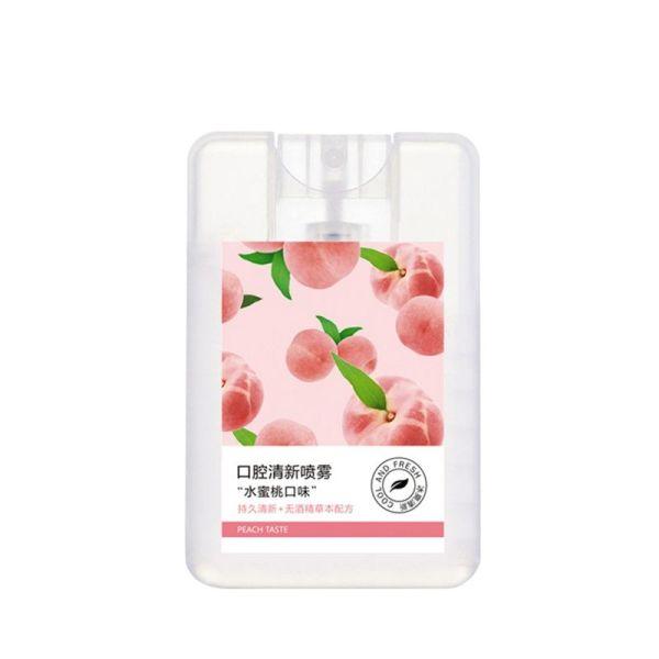 Xịt thơm miệng Heyxi vị đào dịu nhẹ, kháng khuẩn, khử mùi hôi, chăm sóc răng miệng HXTM1 Neity