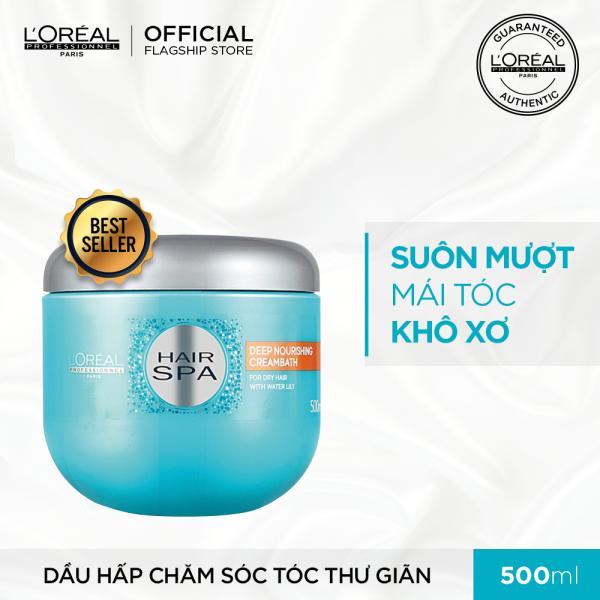 Dầu hấp cấp ẩm cho tóc khô LOréal Professionnel Hair Spa 500ml tốt nhất