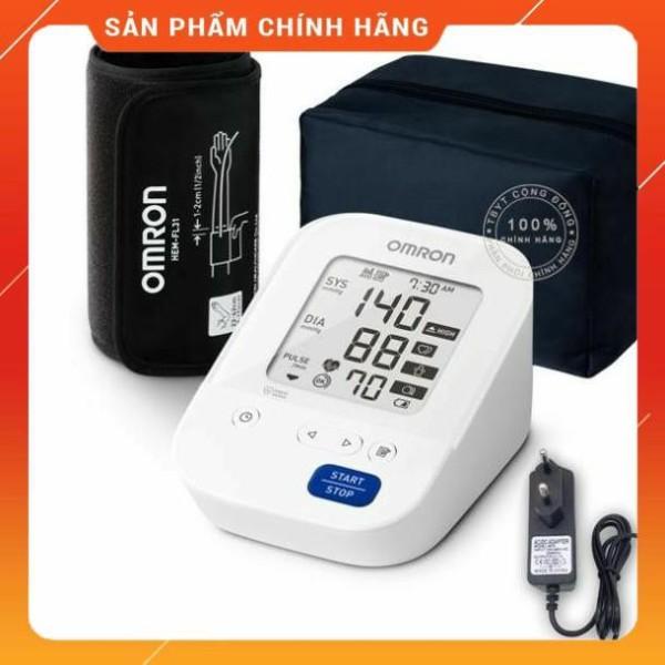 Máy đo huyết áp tự động Omron HEM-7156 + Tặng Adapter trị giá 180k bán chạy
