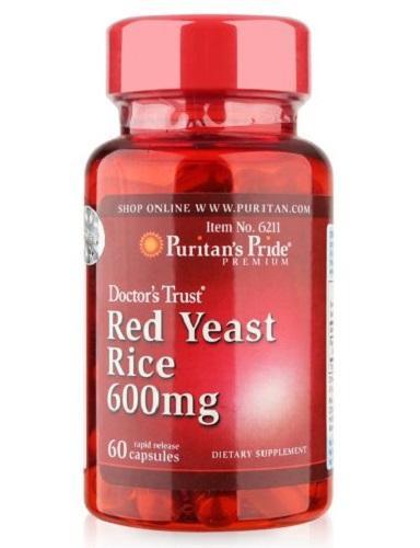 Combo Tinh chất gạo lức gạo lứt giảm mỡ máu Red Yeast Rice+CoQ10 của Puritans Pride Hạn sử dụng: tháng 3/2020