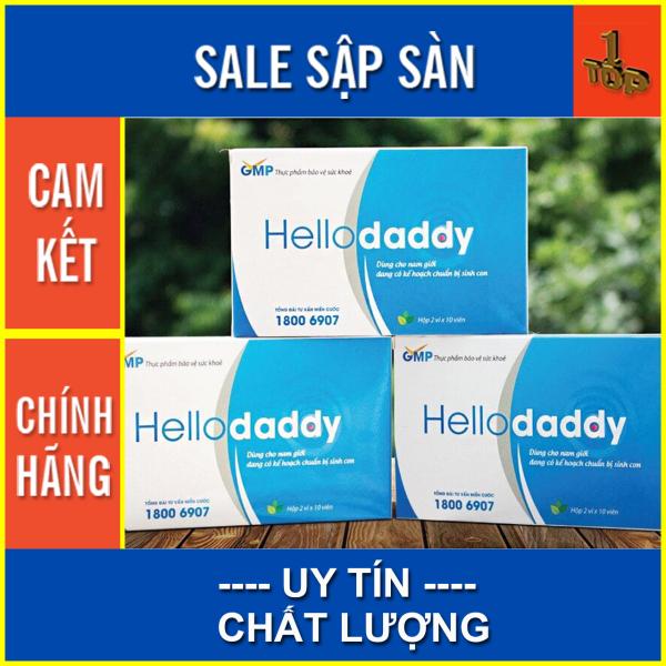Viên Uống Hello Daddy - Hỗ Trợ Bồi Bổ Tăng Cường Sức Khỏe Nam Giới - Hộp 20 viên - Top1 Pharmacy