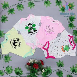 Quần áo trẻ sơ sinh, body chip cho bé trai bé gái từ 0 đến 12 tháng chất cotton dày dặn (xả kho hàng lỗi tỷ lệ 20%) thumbnail
