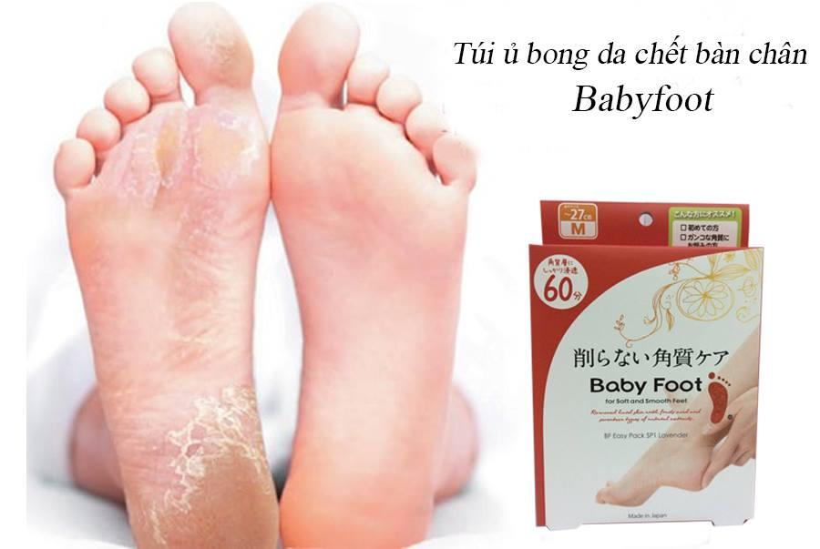 Túi ủ tẩy da chết bàn chân babyfoot Nhật Bản chính hãng