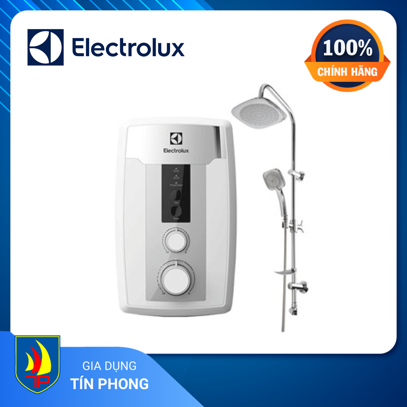 Deal Ưu Đãi MÁY NƯỚC NÓNG ELECTROLUX EWE451HB-DWS2. Làm Nóng Trực Tiếp. Công Suất Làm Nóng: 4500 W. Bơm Trợ Lực: Có.