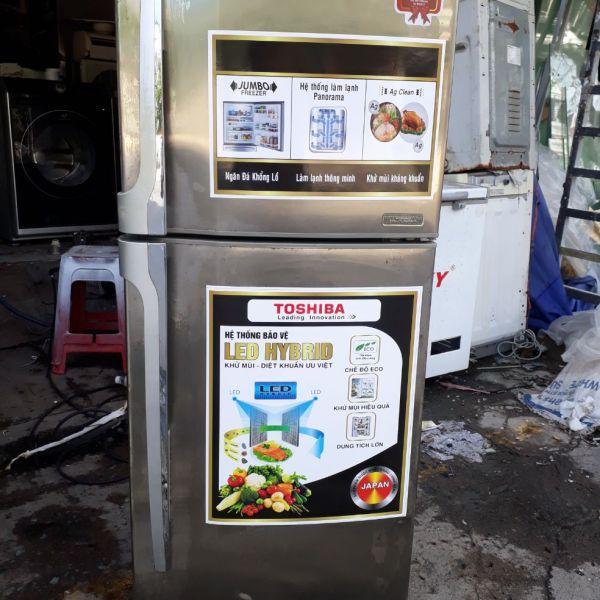 tủ lạnh cũ toshiba 220 lít