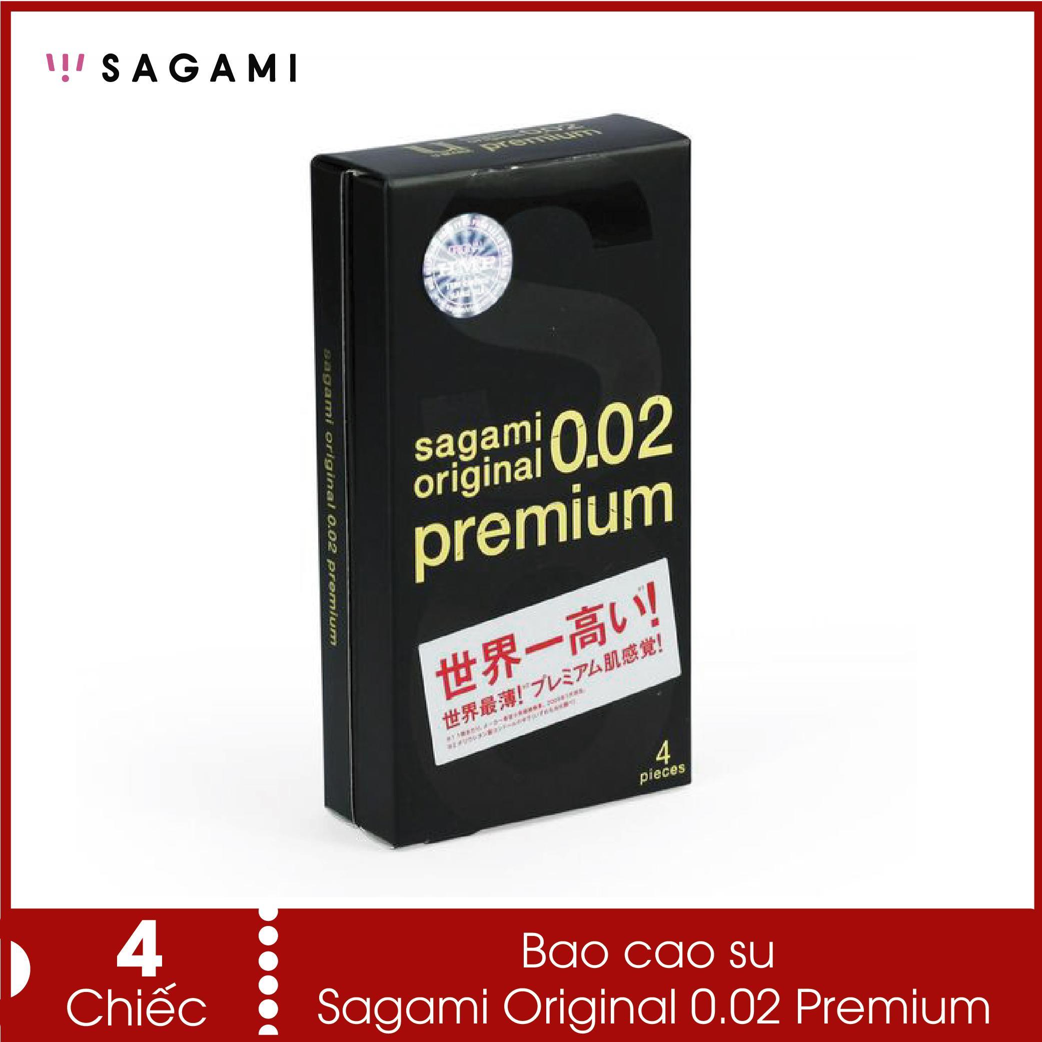 Bao cao su siêu mỏng Sagami Original 0.02 (hàng cao cấp) - Siêu mỏng, chịu lực gấp 3 lần không lo bị rách