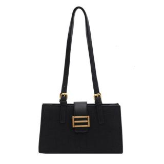 Túi xách nữ đeo chéo hàng hiệu chất liệu da cao cấp - NT28 đen thumbnail