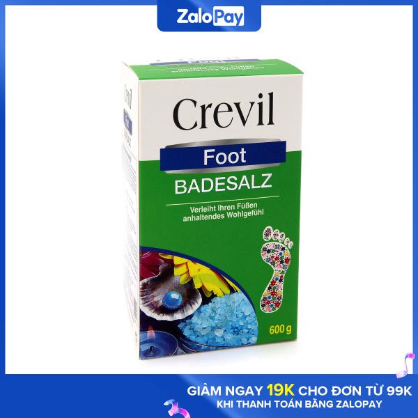 Crevil Foot Badesalz - muối ngâm chân giảm đau nhức xương khớp, tăng cường lưu thông máu, ngăn ngừa xơ cứng động mạch giá rẻ