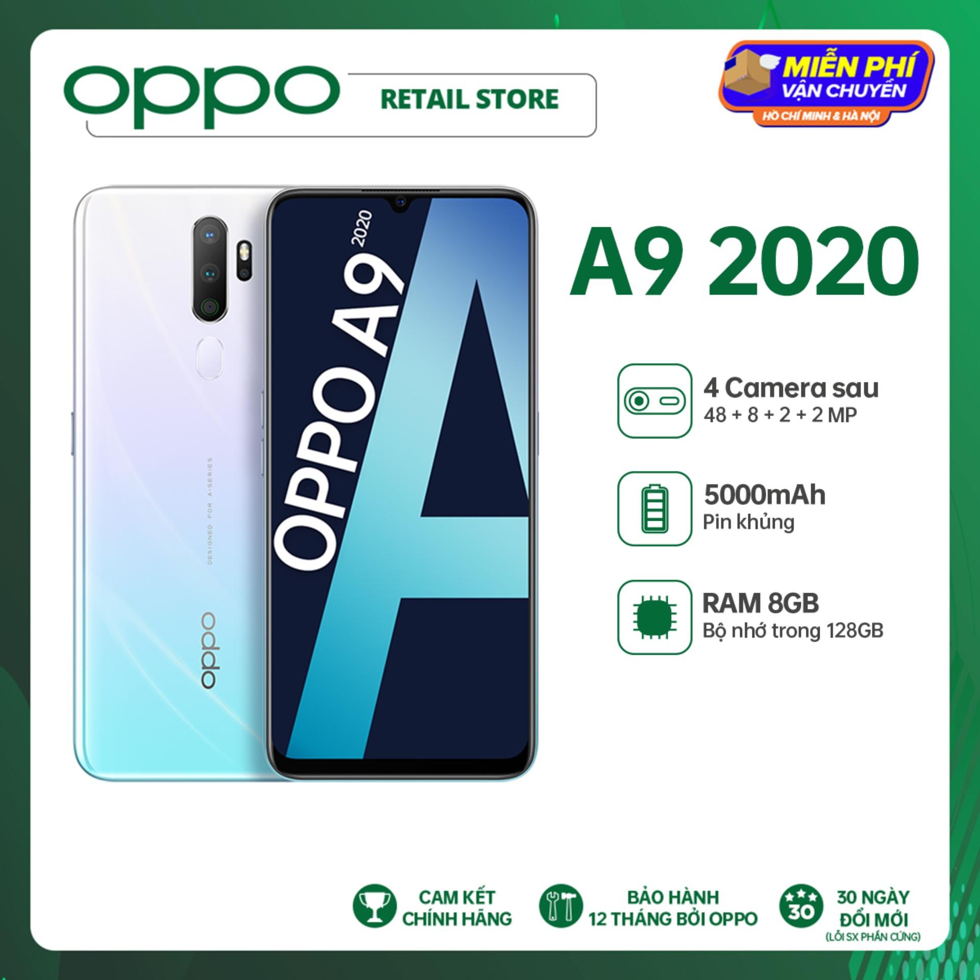 TRẢ GÓP 0% Điện thoại Oppo A9 2020 (8GB/128GB) -...