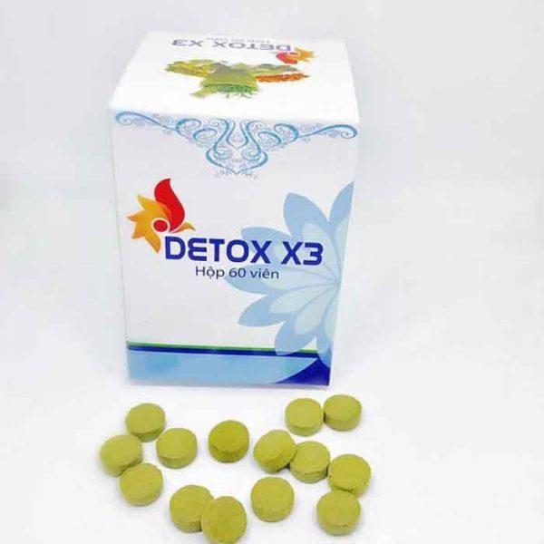 detox x3 giảm mỡ bụng cực nhanh- giảm cân thái lan chính hiệu
