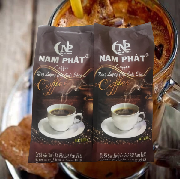 [1 KG] cà phê bột thơm loại 1 hàng pha phin truyền thống - đặc sản nhà vườn Buôn Mê - 2 túi 500g